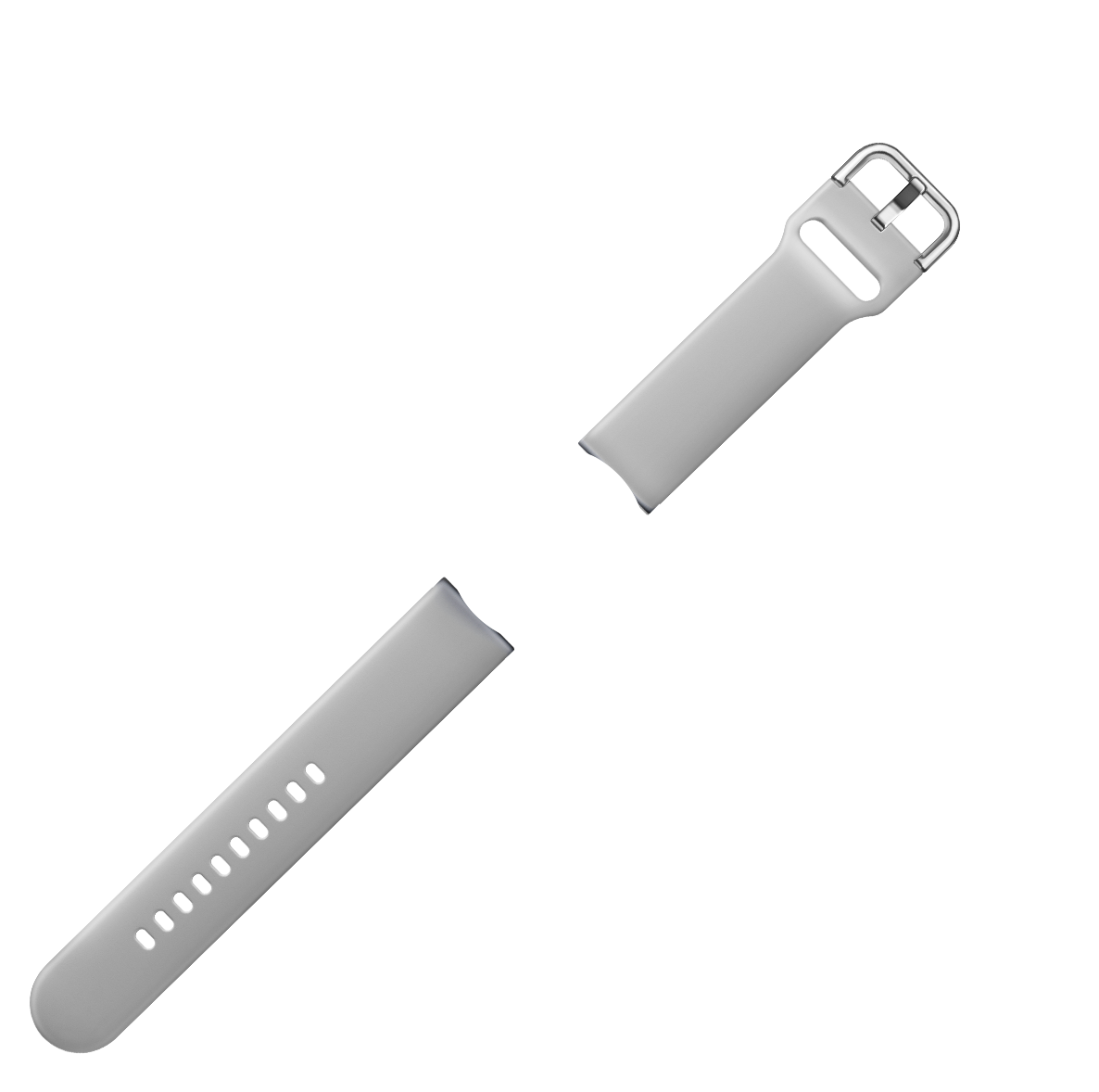 Strap is Light gray color
