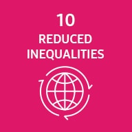 Representative image of SDG reduced inequalities
