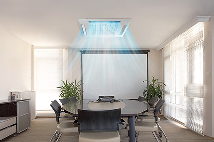 Comfortable Air Flow for Offices