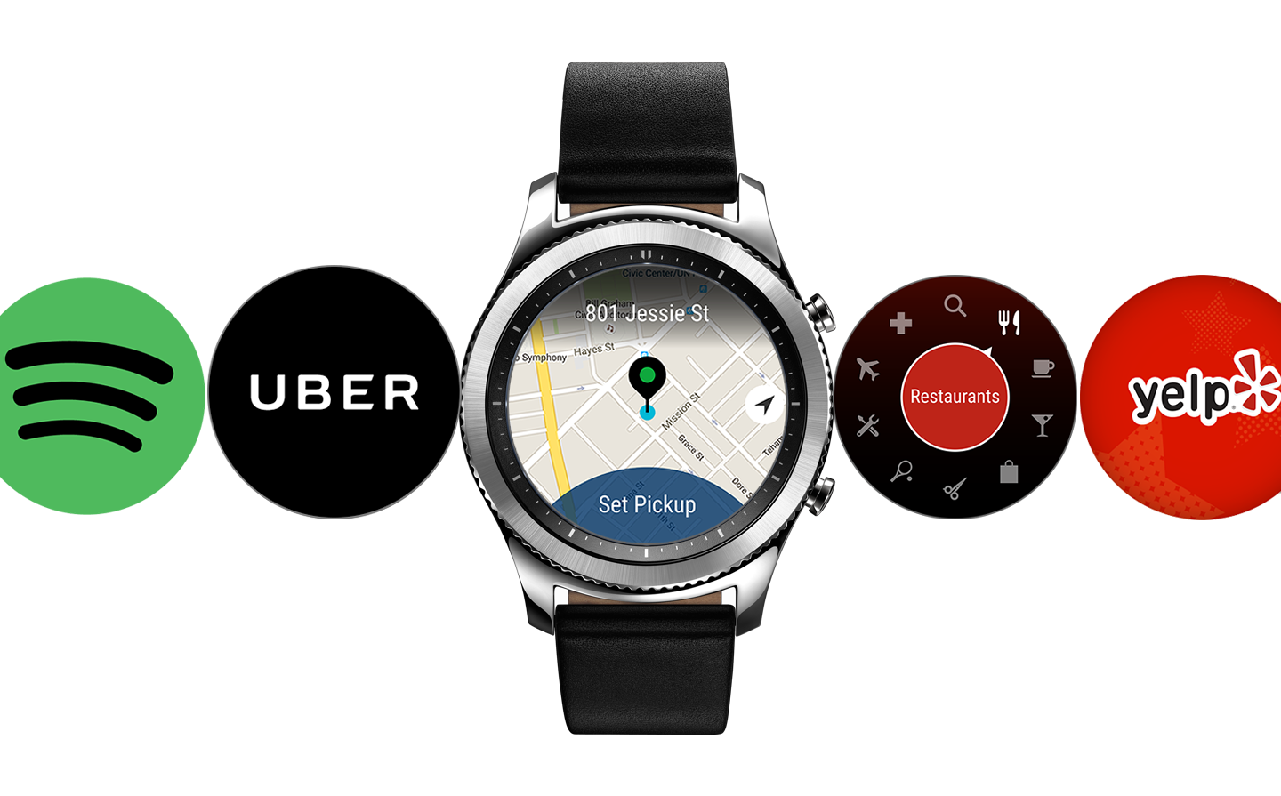 Samsung Gear S2 Apps