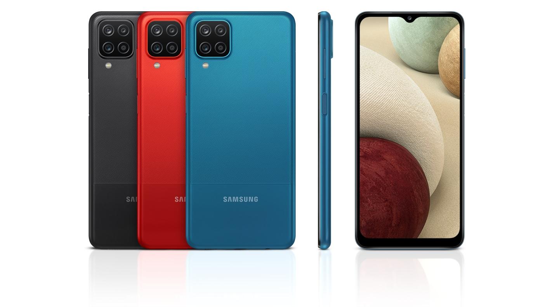 Vue arrière classique de 3 appareils en noir, rouge, bleu avec 1 vue latérale et 1 vue avant pour mettre en valeur la finition mate moderne