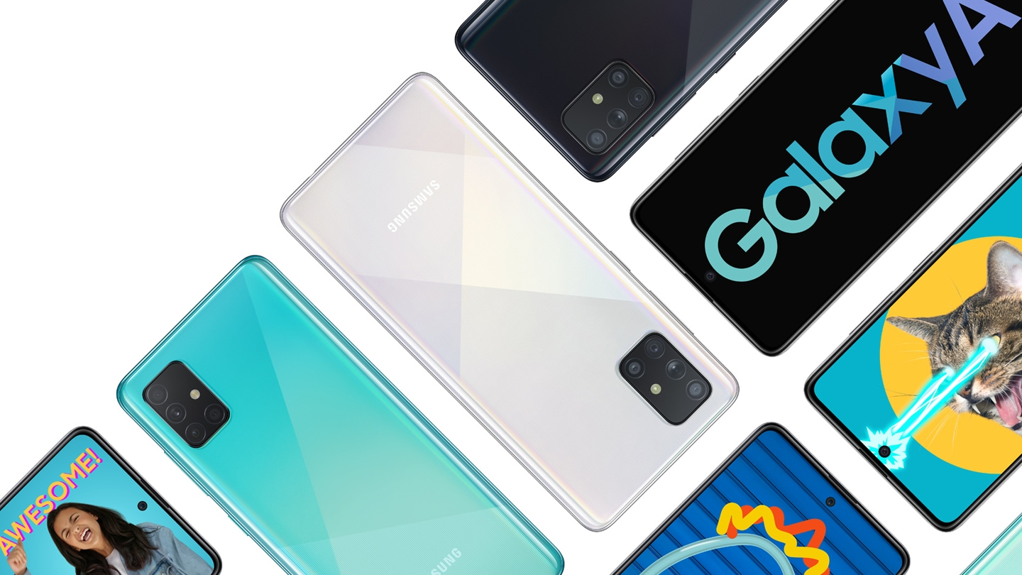 Check out the new Galaxy A series to find the one for you