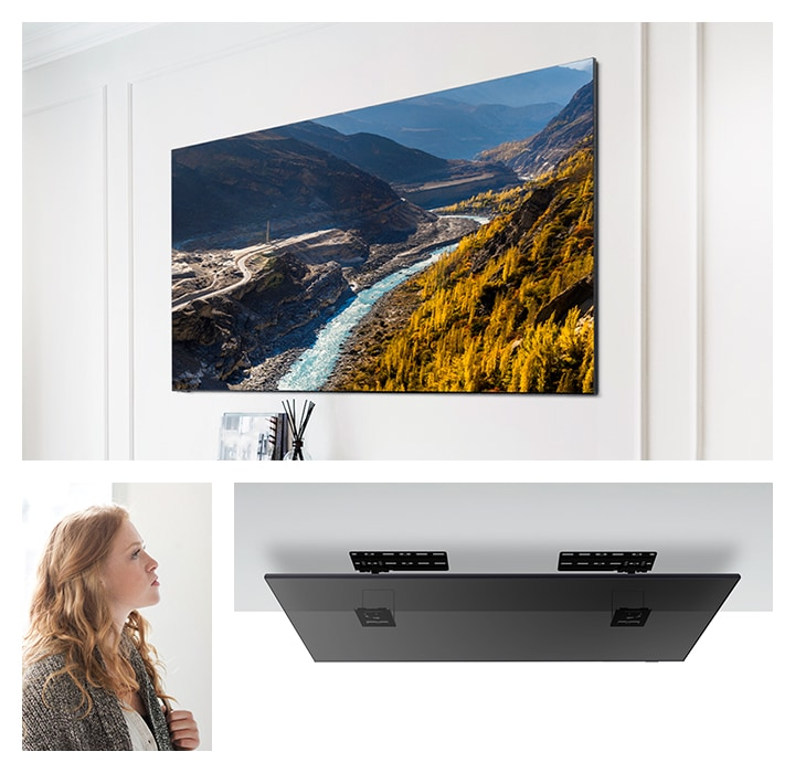 slim fit wall mount