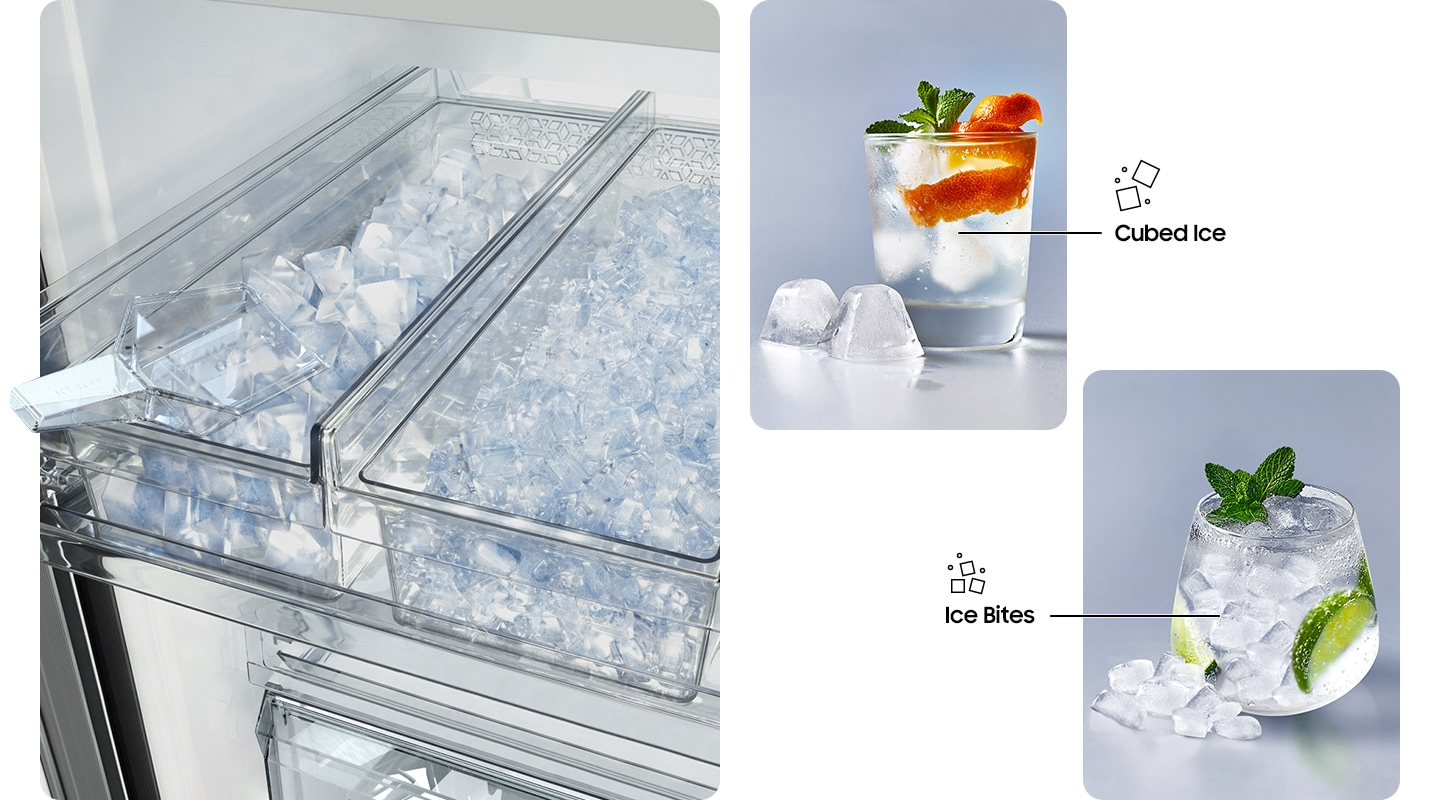 More ice with more choice