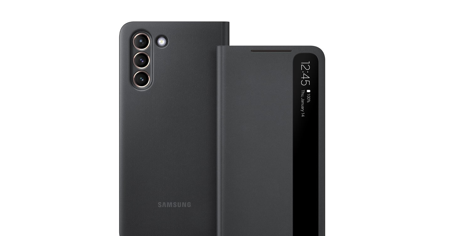galaxy s21 ultra clear view cover