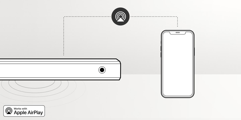Reproduce música en tu barra de sonido con un simple toque