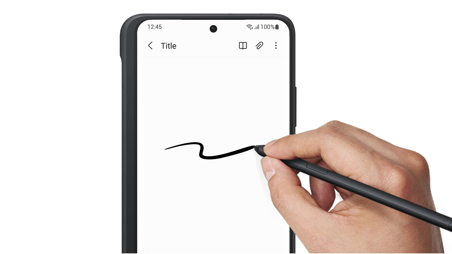 Silicone Cover with S Pen