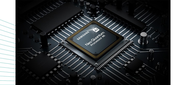 Novi, hitri in zmogljivi procesor Neo Quantum 4K ponuja najboljšo 4K UHD TV izkušnjo.  Zahvaljujoč umetni inteligenci in globokemu učenju uživajte v vseh svojih vsebinah v ločljivosti 4K UHD, ne glede na vir.