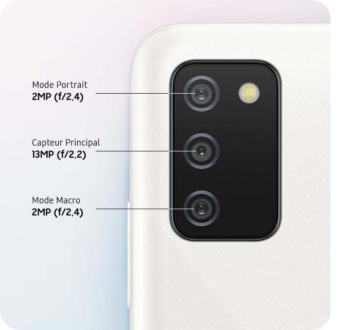Capturez chaque moment avec la triple caméra