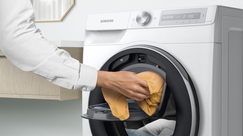 Απλώς προσθέστε κατά τη διάρκεια της πλύσης