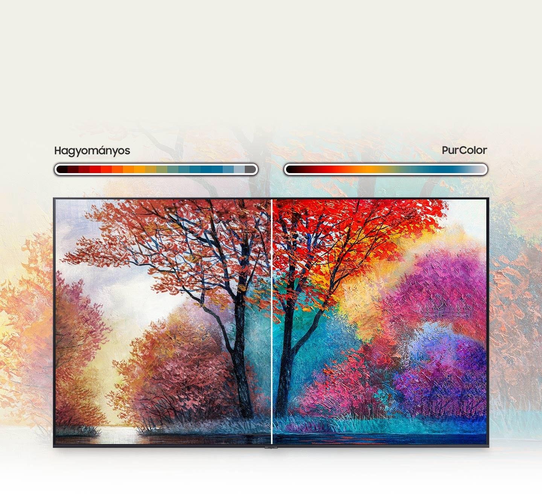 Fino nastavljene barve za živo, realistično sliko