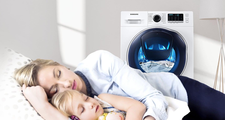 Nyugalmas mosás