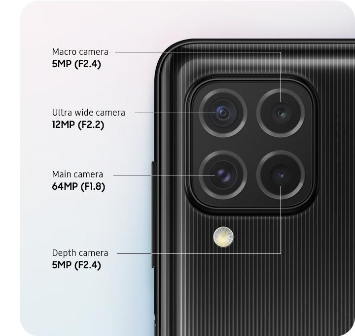 Kamera Galaxy M62