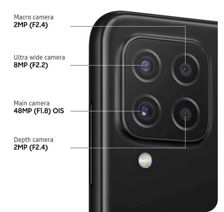 Kamera Galaxy A22 LTE