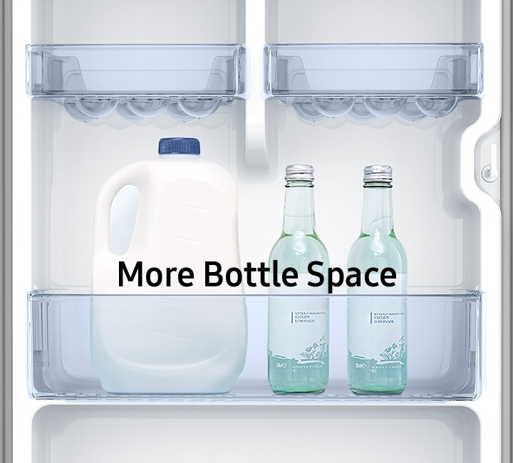 More bottle space