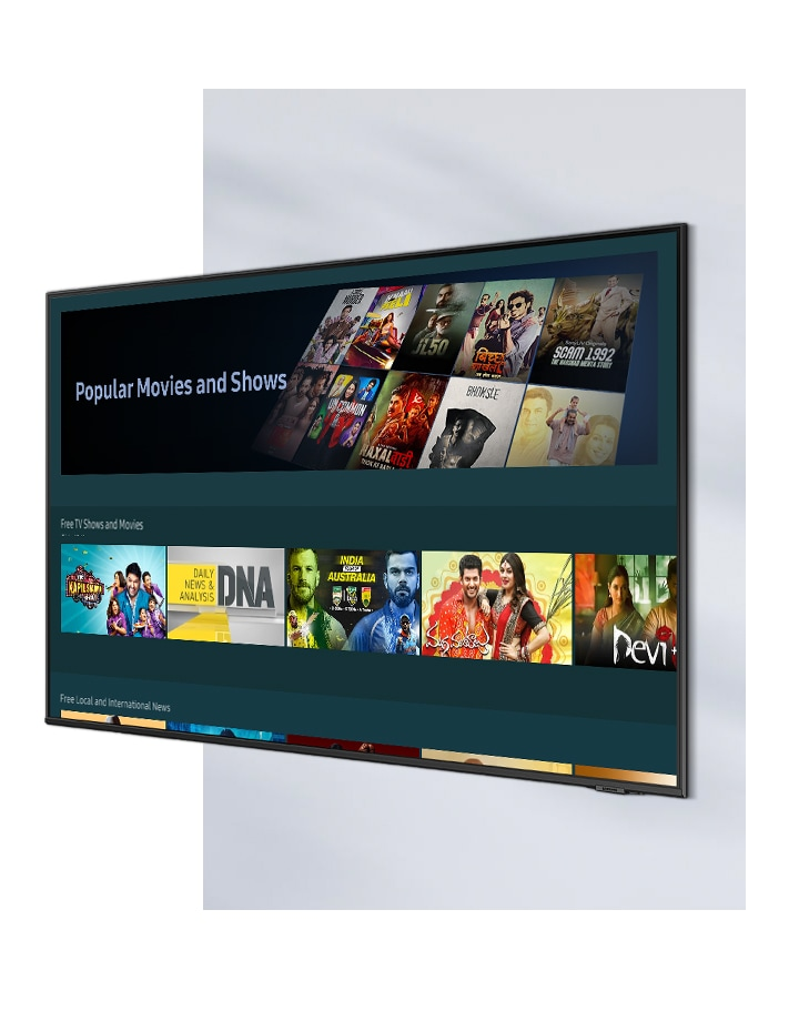 Universal Guide user interface image shows various images of popular content.