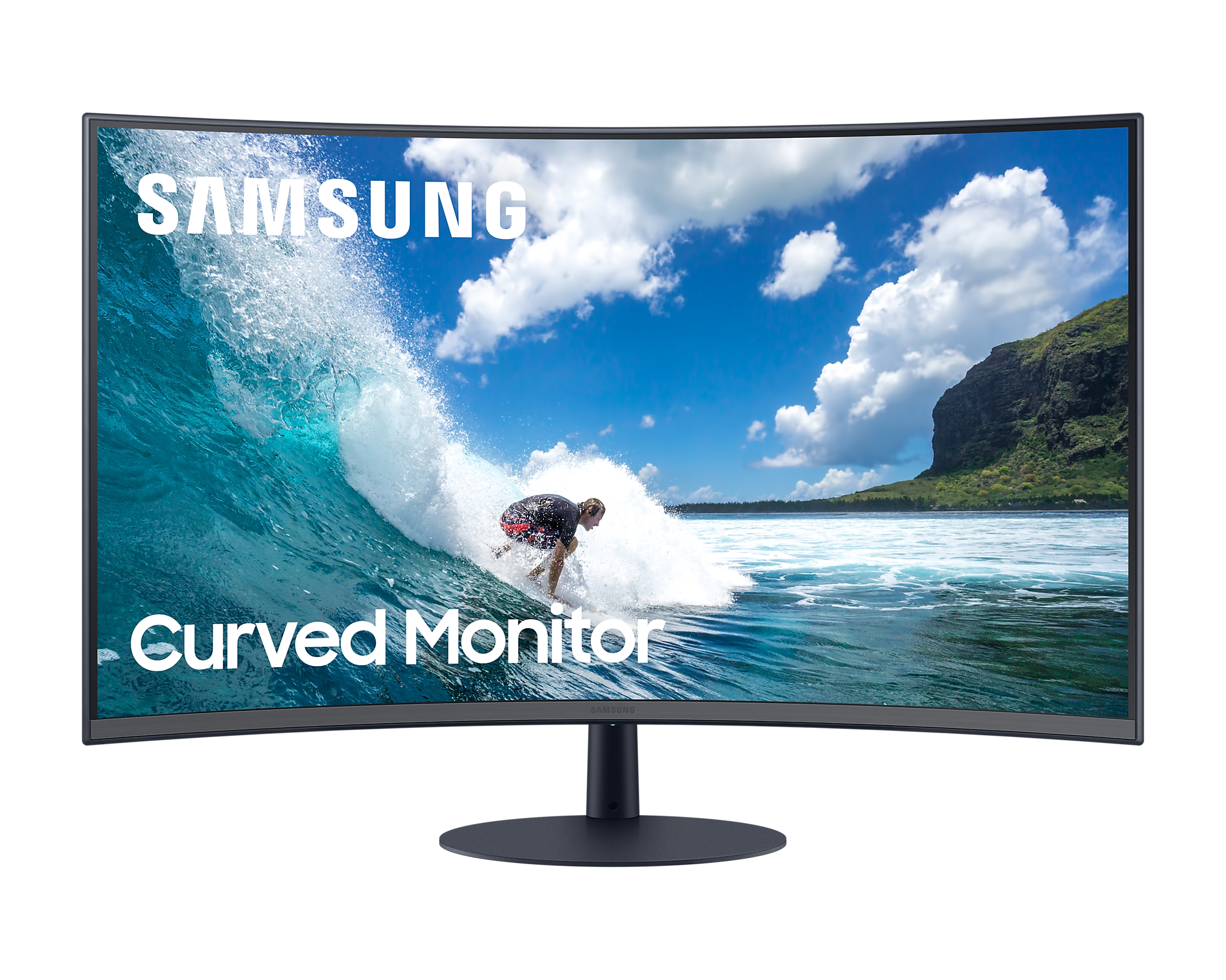 """Curved Monitor with 1000R display (27"""") LC27T550FDWXXL"""
