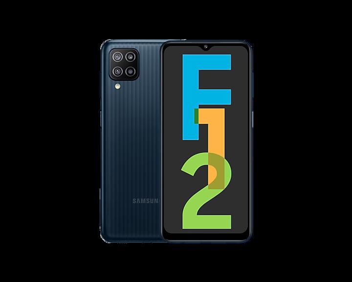 Buy Galaxy F12 Black 4GB/64GB Storage | Samsung India