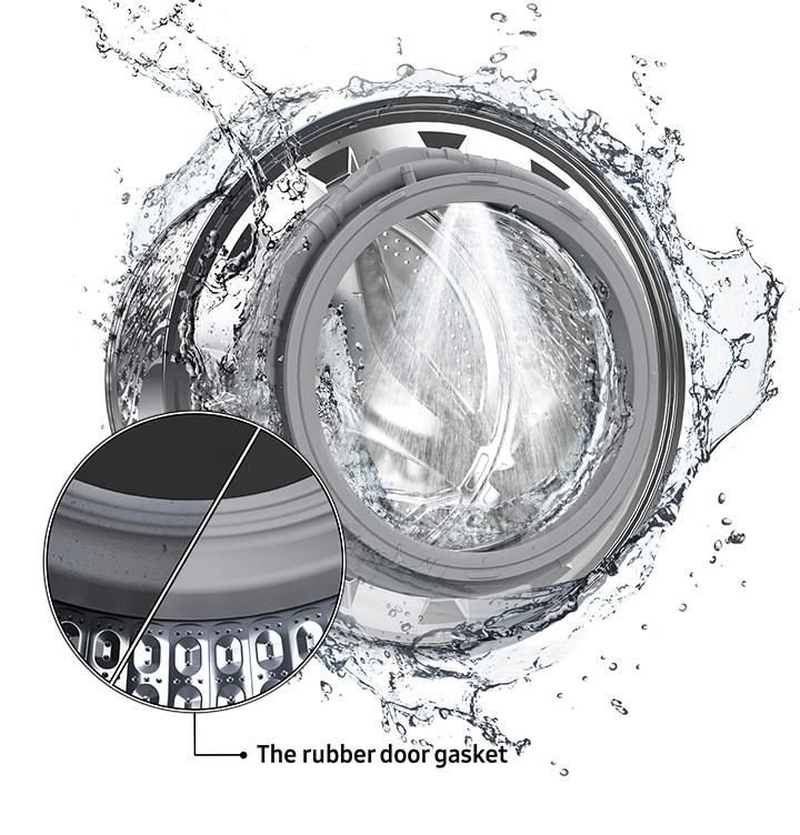 Un lave-linge propre
