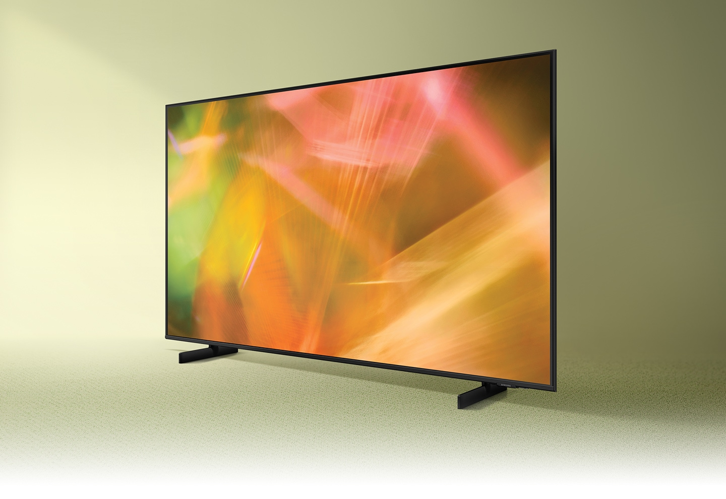 AU8000 displays intricately blended color graphics which demonstrate vivid crystal color.