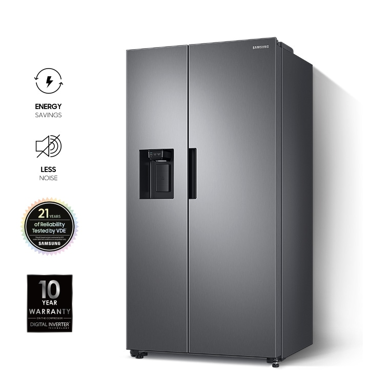 RS8000NC offers the benefits of energy savings, less noise, 21 years of reliability tested by VDE, and a 10-year warranty.