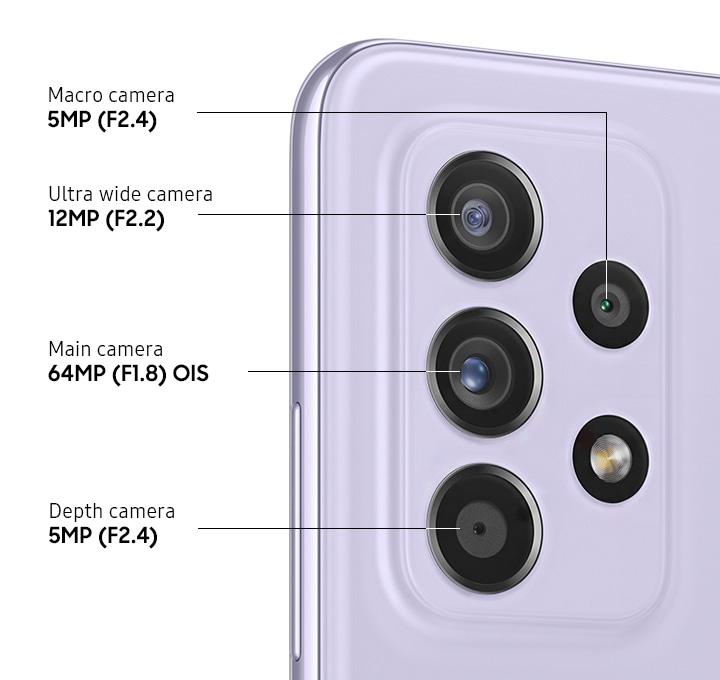 Samsung Galaxy A52s 相机规格