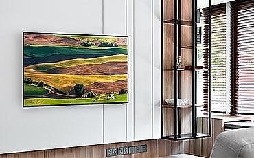 AU8000 hài hoà trong không gian nội thất.