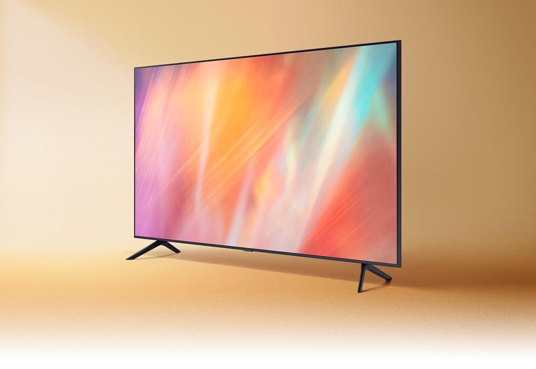AU7000 hiển thị đồ họa màu sắc được pha trộn phức tạp nhằm thể hiện khả năng trình chiếu màu sống động.