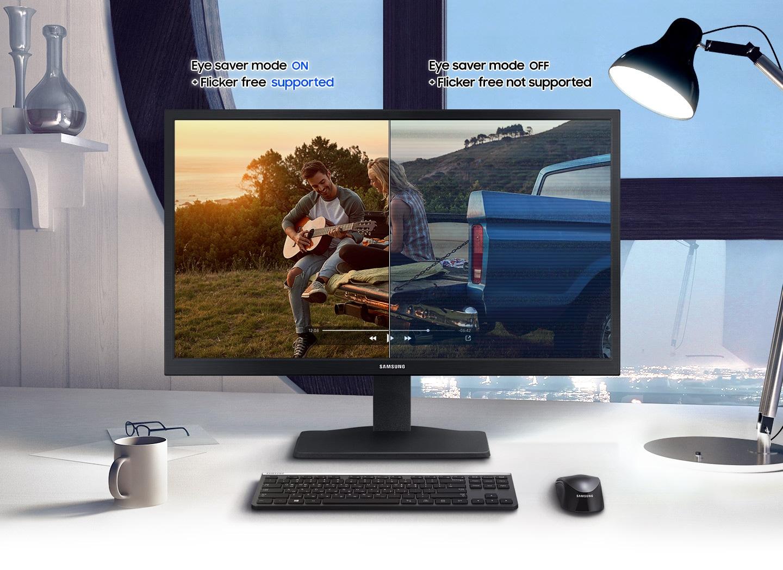 Göz koruyucu modu tarafından desteklenen ve titreşimsiz ekran, daha rahat bir izleme deneyimi sunar.