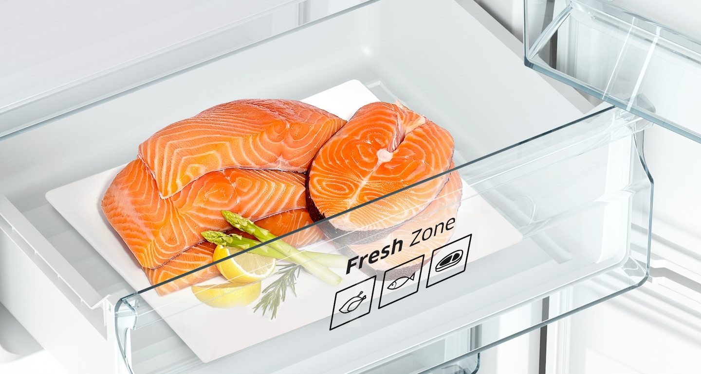 Ideal care for meat & fish