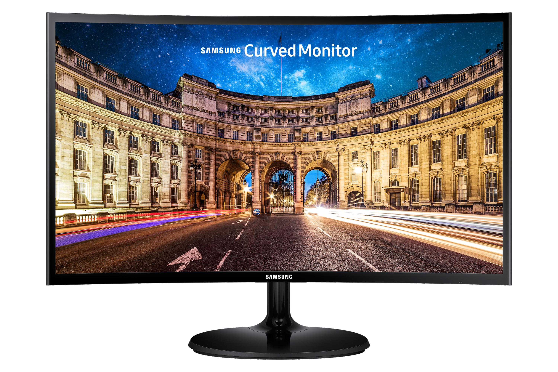 "24"" LED Monitor con Diseño Curvo"