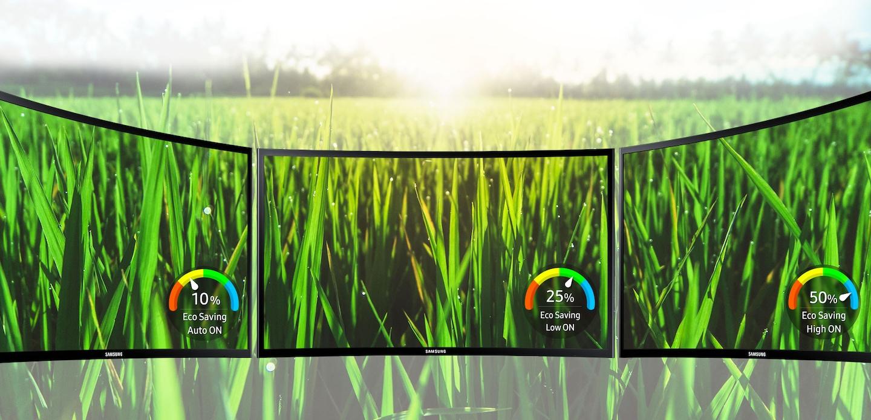 La tecnología de ahorro ecológico de Samsung reduce el consumo energético y el impacto ambiental