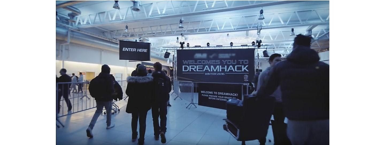 Samsung en Dreamhack invierno 2016