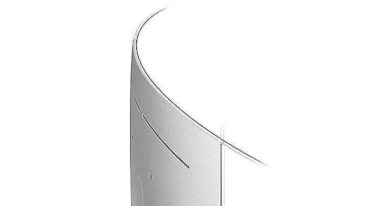 Pantalla curva