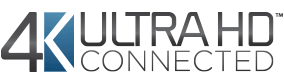Imagen del logo de 4K Ultra HD connected