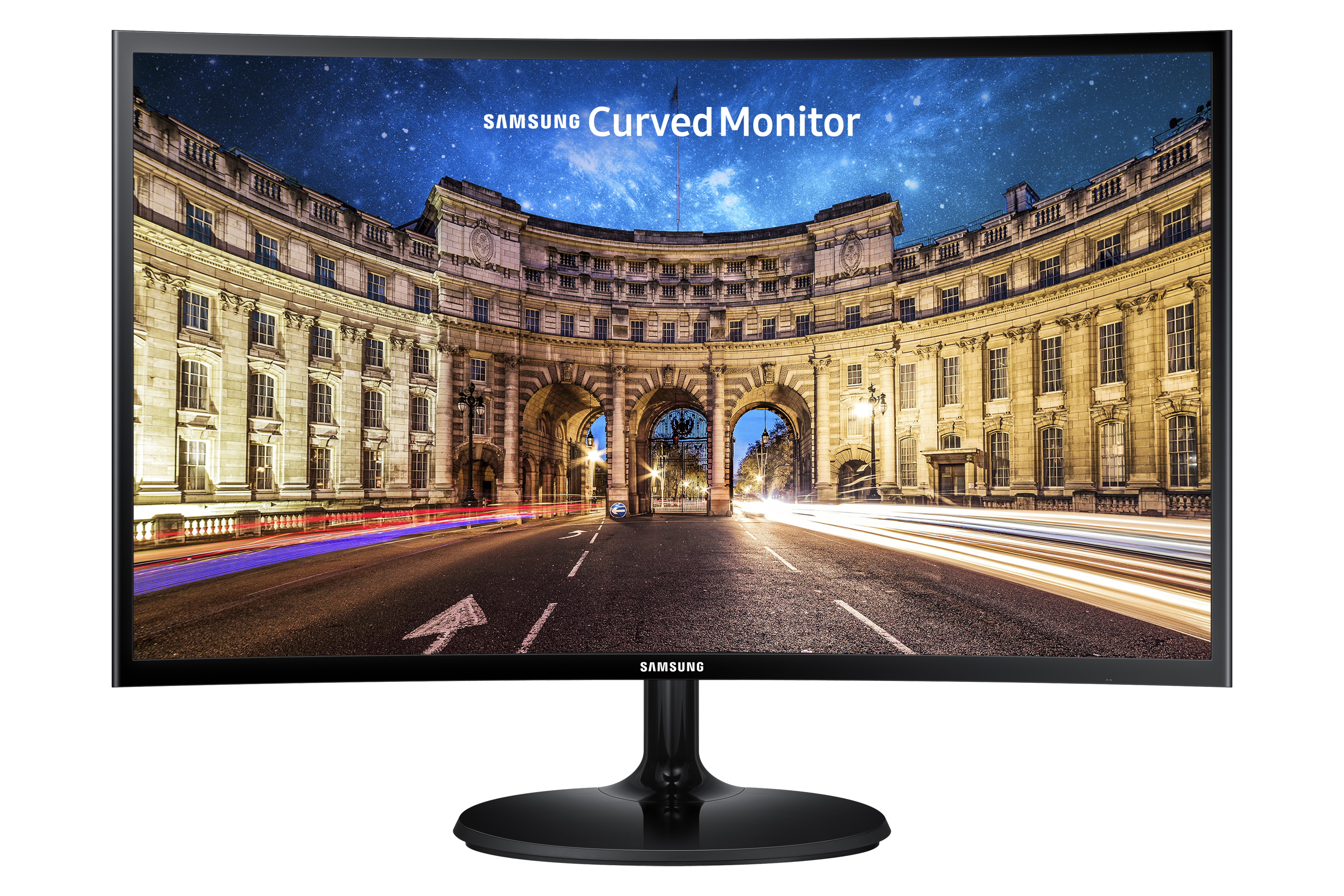 """24"""" Essential Curved Monitor with the deeply immersive viewing experience"""