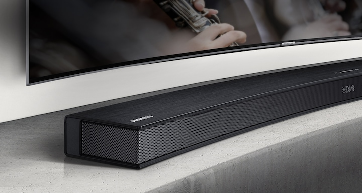 The perfect match for your curved TV