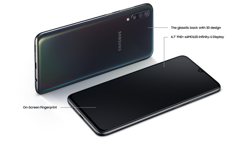 Samsung galaxy A70 1(28gb/ 6gb ram)