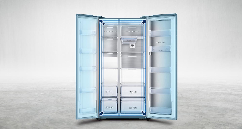 Samsung RH58K6467SLTC Food Showcase Fridge with Twin Cooling Plus ...