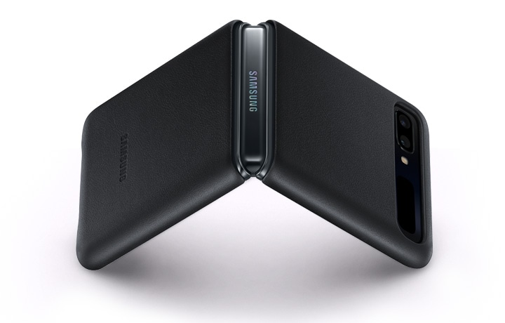 Leather Cover for Galazy Z Flip | Samsung Philippines
