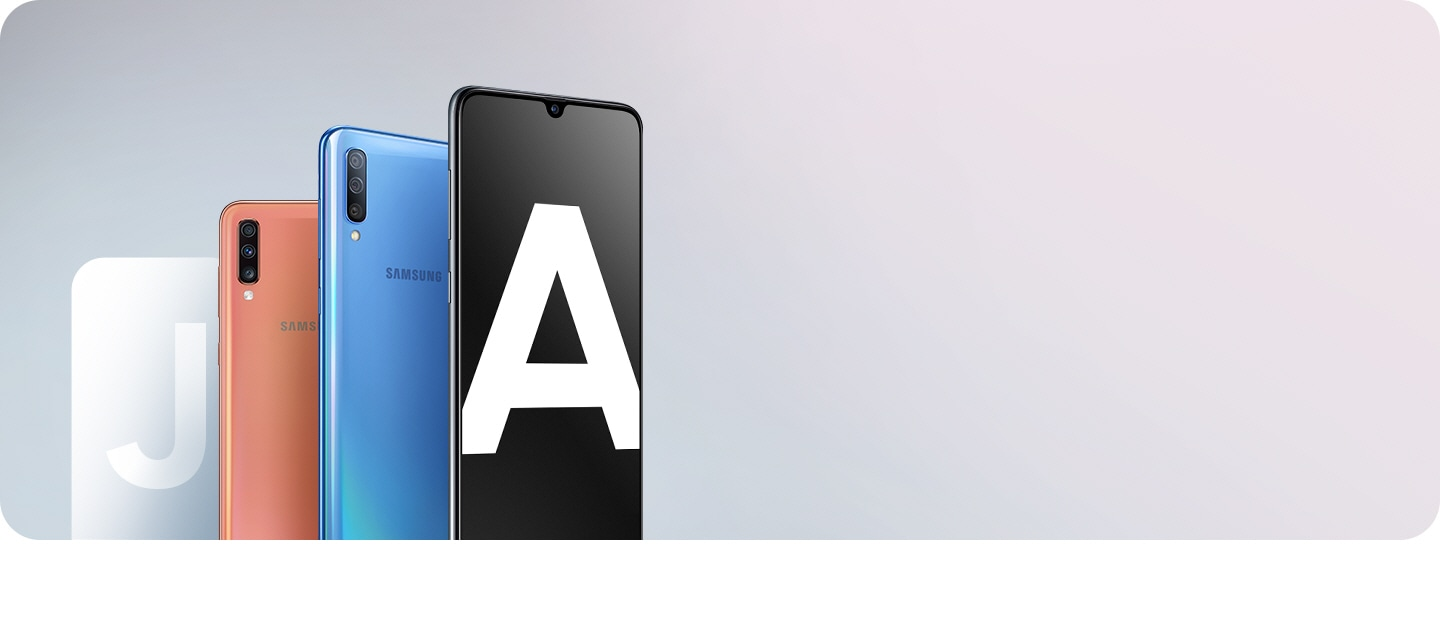 Upgrade your Galaxy J now with our new Galaxy A smartphones