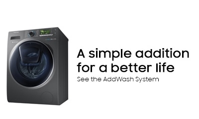A simple addition for a better life with the ww12k8412ox AddWash FrontLoad Washer