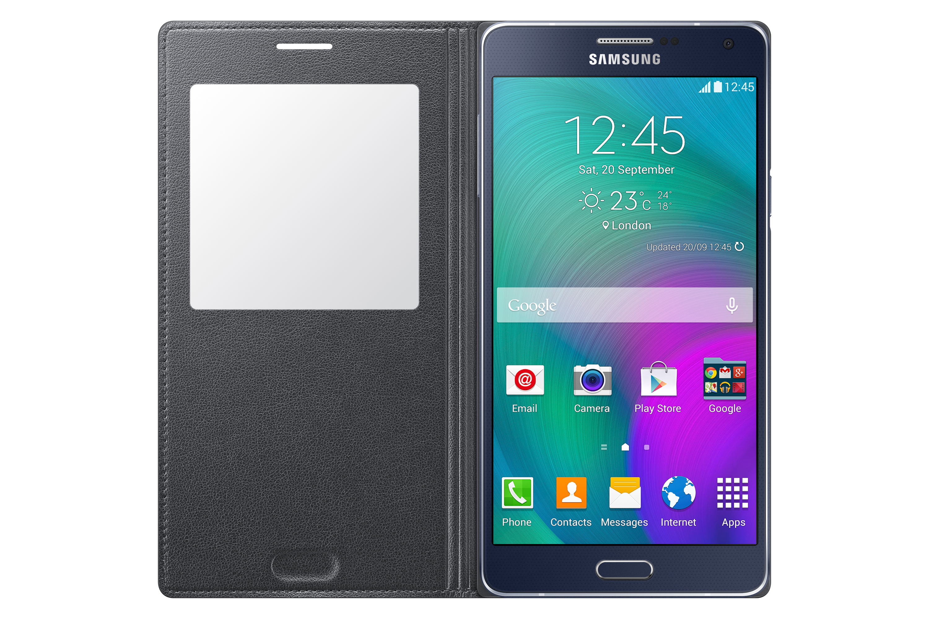 S View Cover EF-CA700B for Galaxy A7