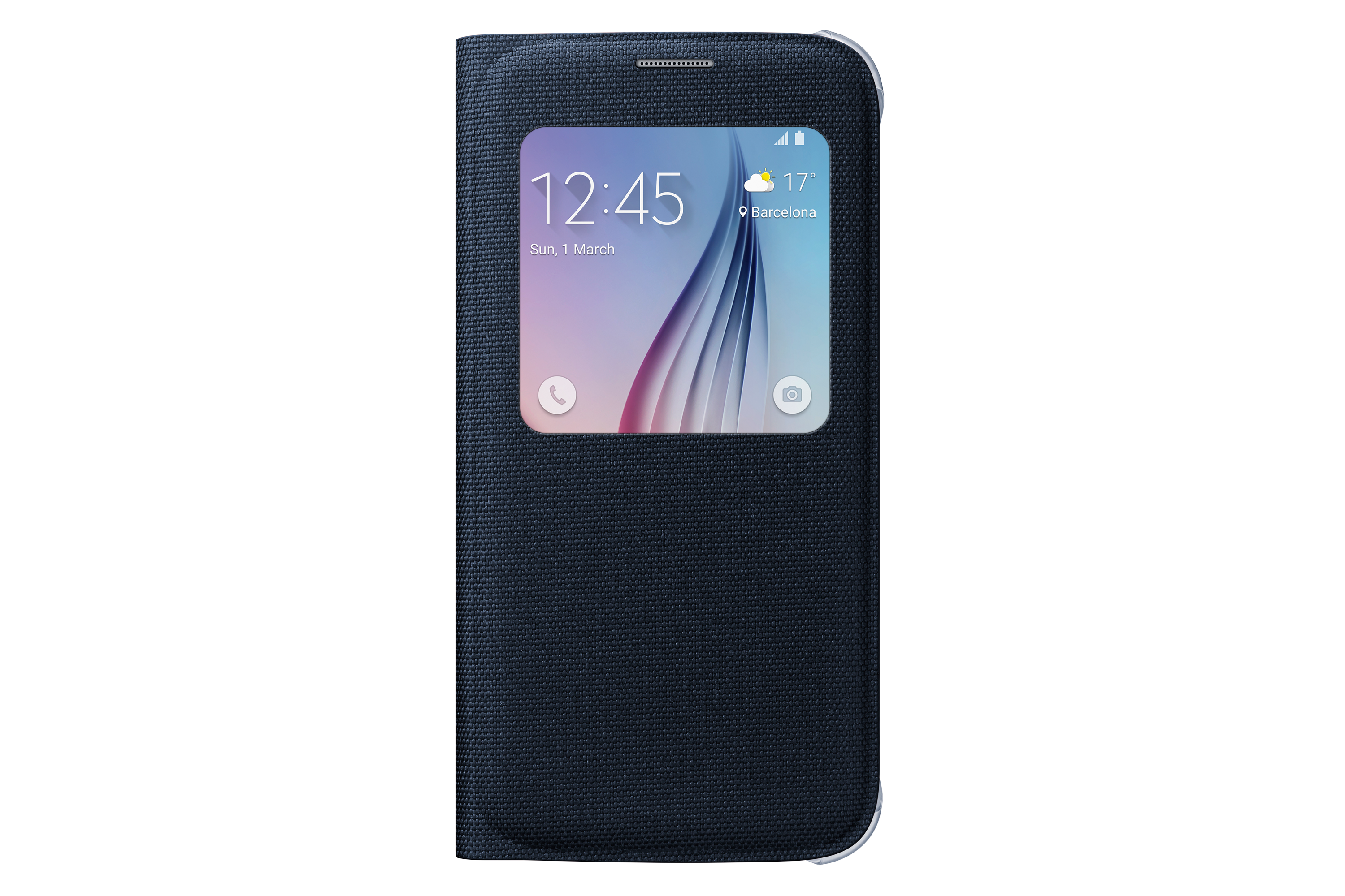 Galaxy S6 Fabric S View Cover EF-CG920B