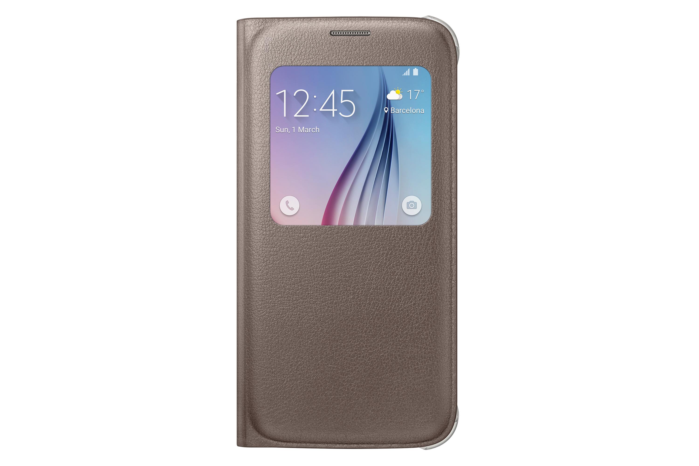 Galaxy S6 Polyurethane S View Cover EF-CG920P