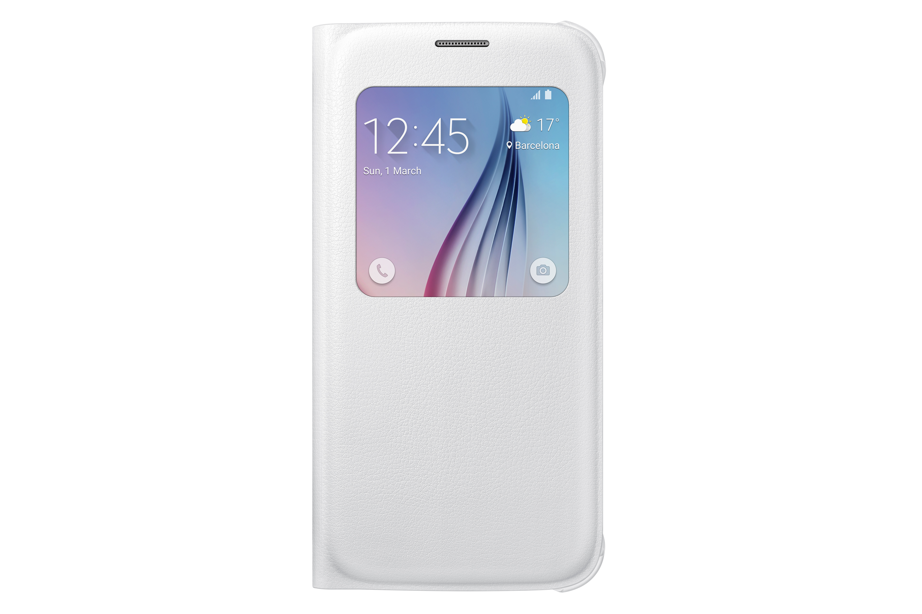 Galaxy S6 Polyurethane S View Cover EF-CG920P