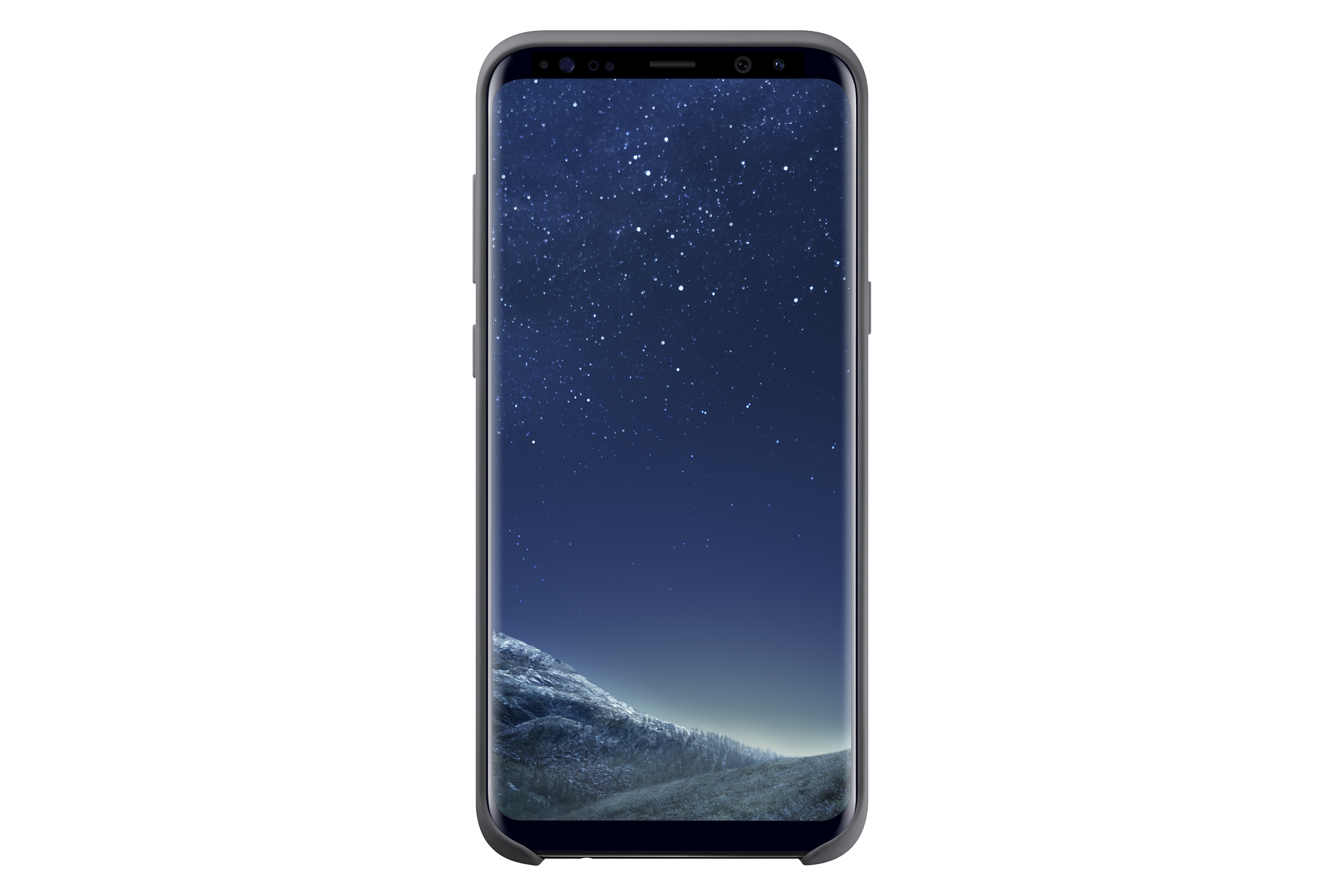 Galaxy S8+ Silicone Cover (Black)