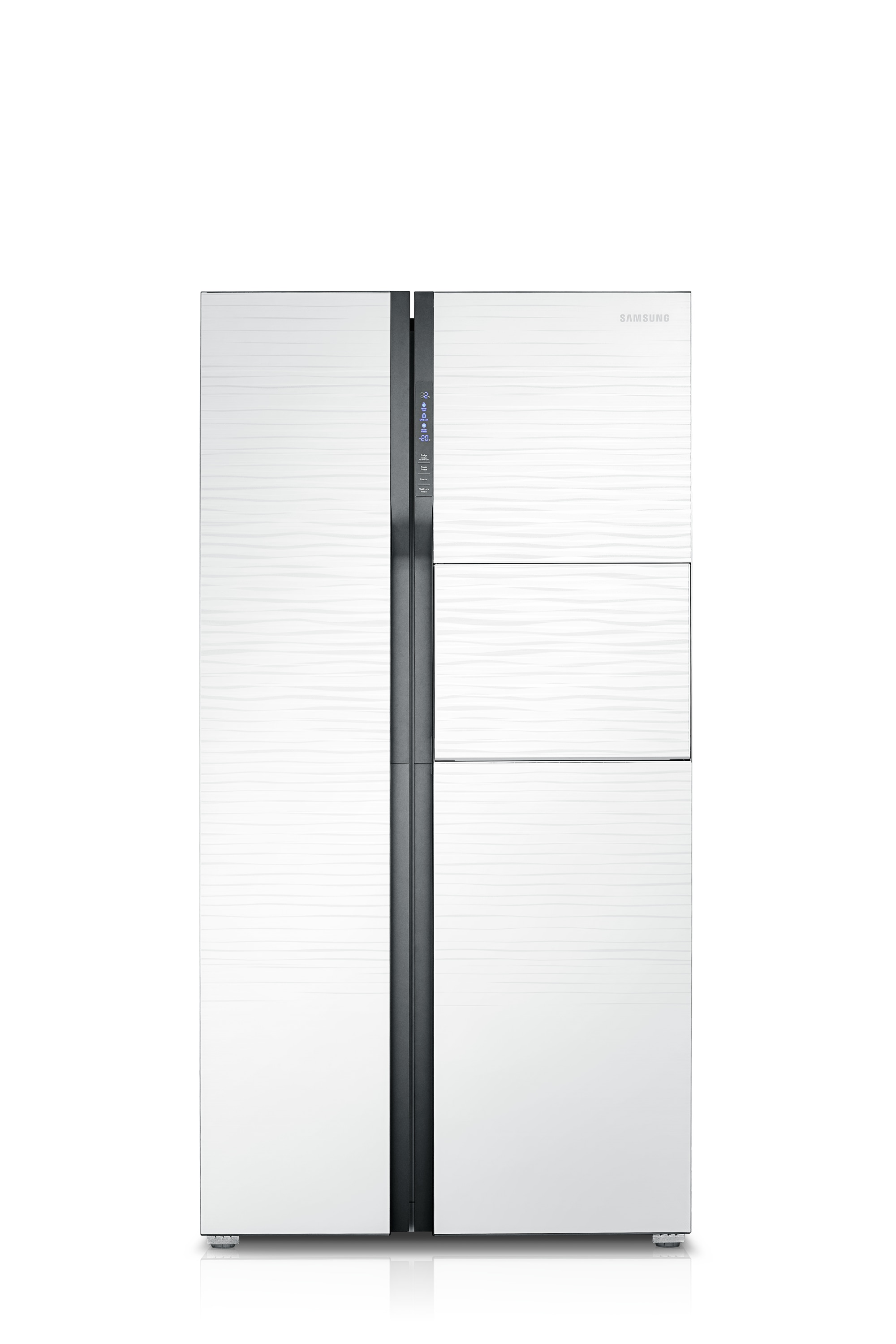 Side by side with Twin Cooling Plus, 20.9 cu.ft , 591 L