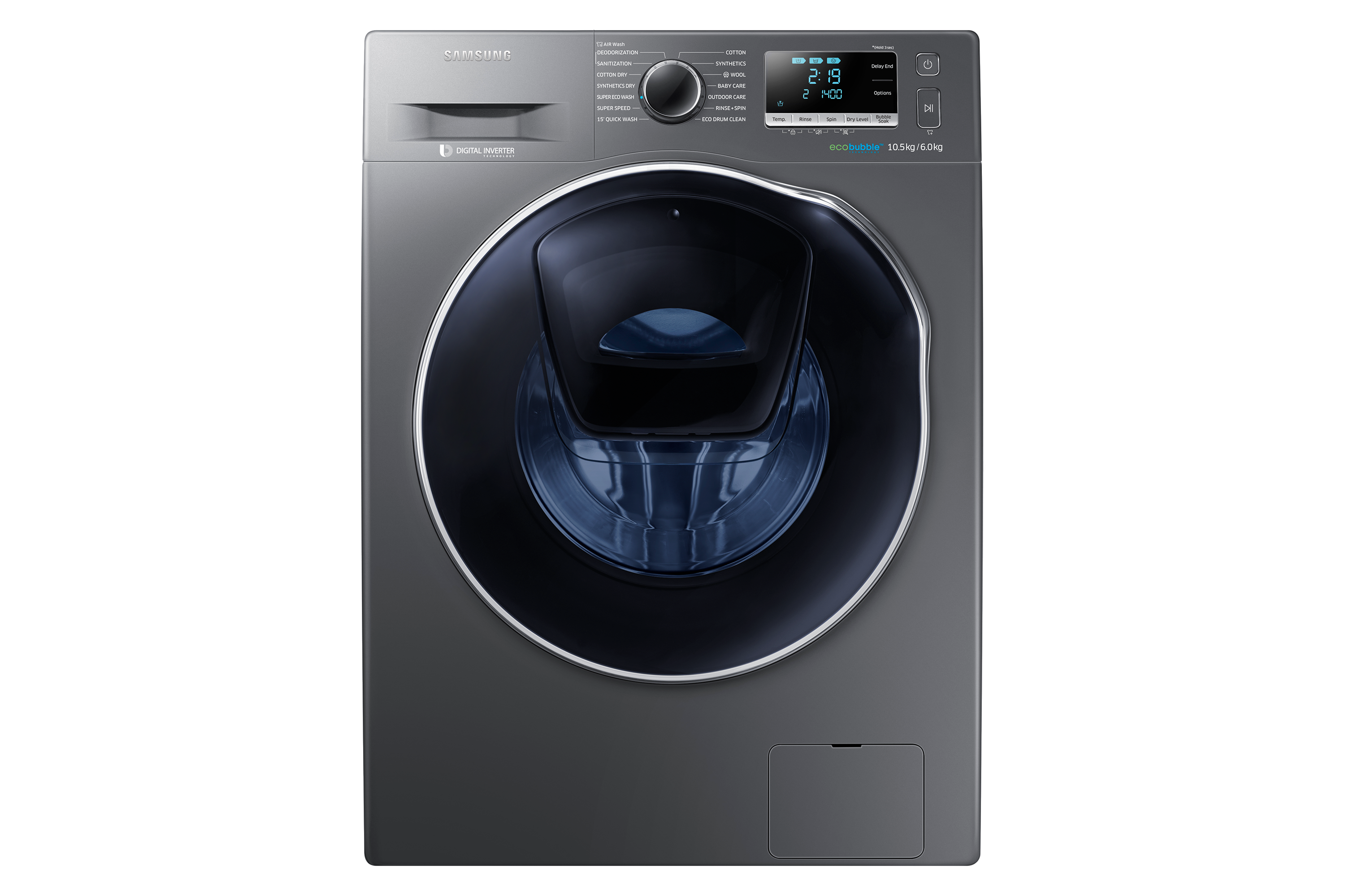 WD10K6410OX Front Load Washer - Dryer with Add Wash 10.5Kg