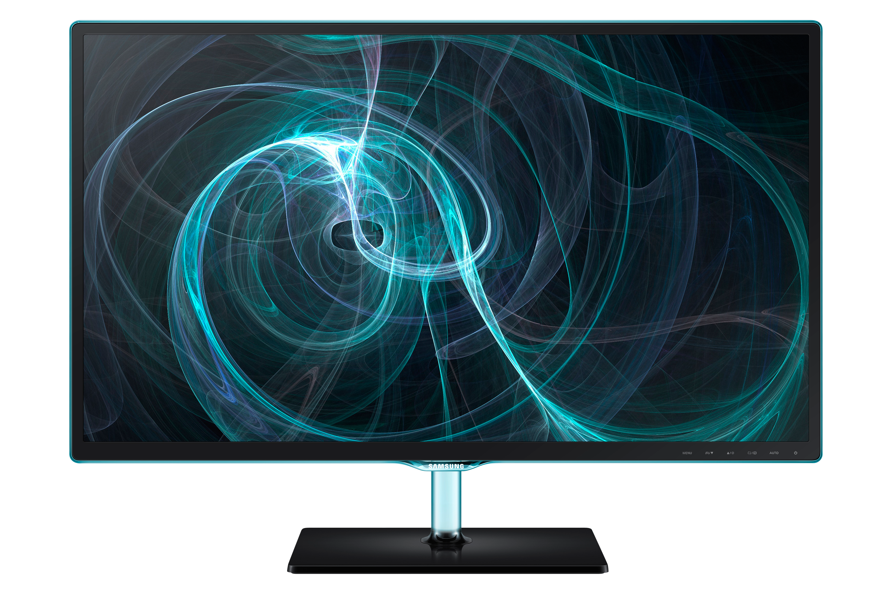 """27"""" LED monitor with the Touch of Color"""
